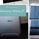 SamsungJ7_Stehauffrau