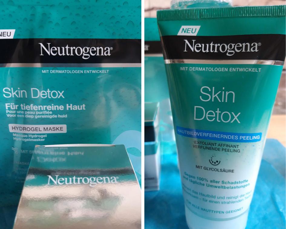 Neutrogena Skin Detox_Stehauffrau