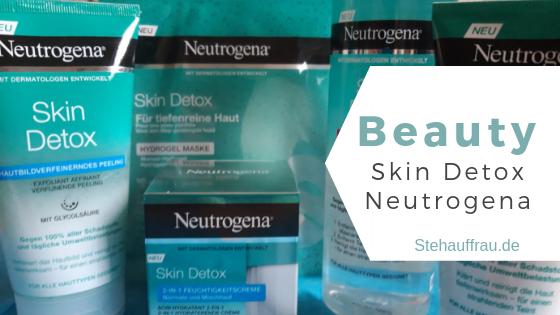 Skin Detox Neutrogena_Stehauffrau