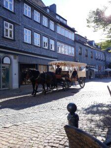 Marktplatz Goslar - Kutschfahrten durch die Stadt