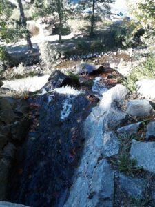 Blick von oberhalb des Radau Wasserfalls